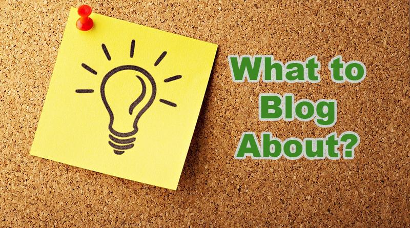 Get Blogging Ideas