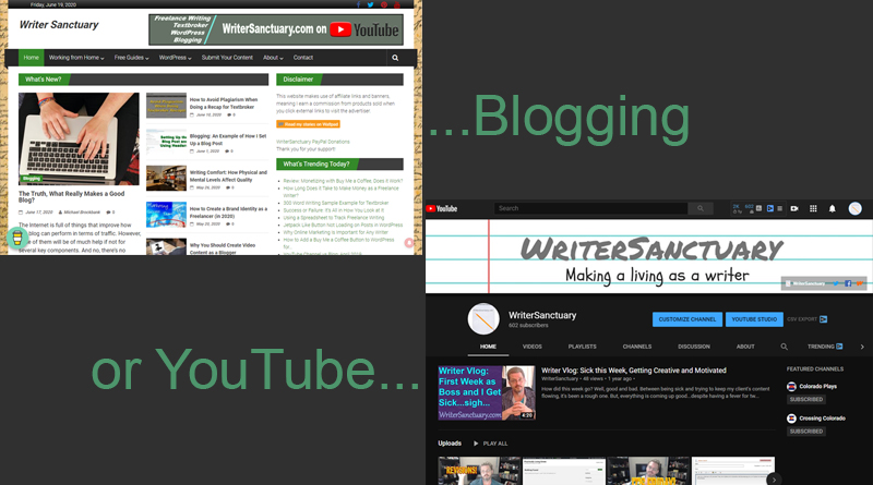 Blogging or YouTube