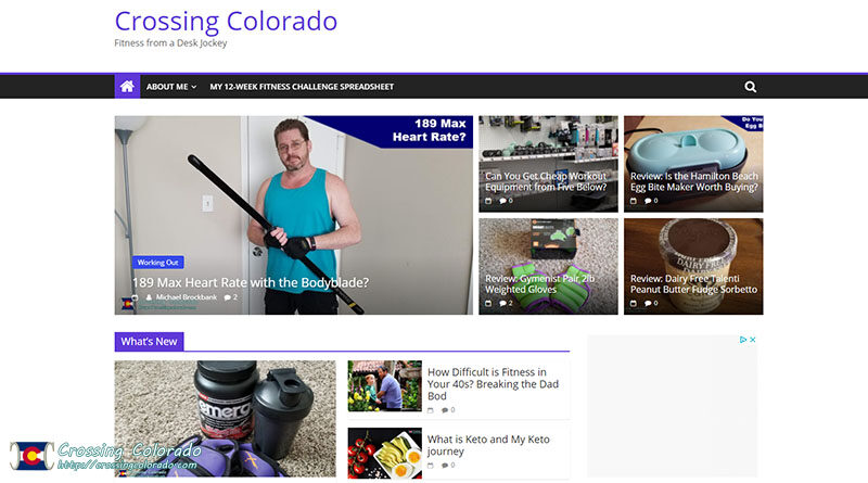 Crossing Colorado Blogging Experiment